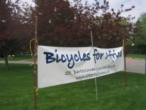 Bikes sign