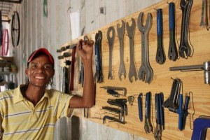 BICYCLES 49 Gobabis-Ismael with tools